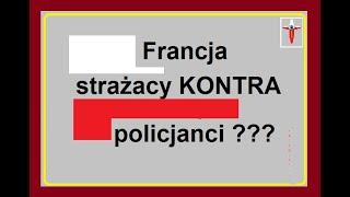 Francja – strażacy kontra policjanci
