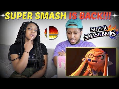 Super Smash Bros. Coming to Nintendo Switch Trailer REACTION!!!