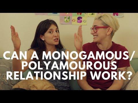 Can A Monogamous/Polyamorous Relationship Work? / Gaby & Allison