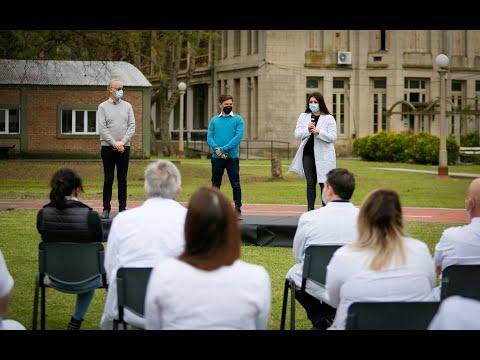 Incorporación al sistema de salud de residentes de hospitales bonaerenses