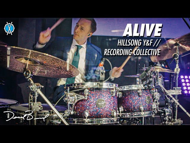 Alive Drum Cover // Hillsong Y&F (Recording Collective) // Daniel Bernard