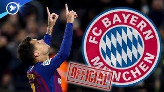 OFFICIEL : accord entre le Bayern et le Barça pour Philippe Coutinho | Revue de presse