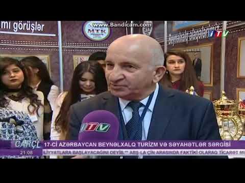 Mingəçevir Turizm Kolleci 2018 Aitf sərgidə ITV çəkliş