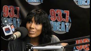 Towanda Braxton talks divorce, marriage and growing up as a Braxton