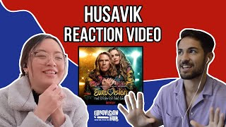 Husavik (Reaction) | Eurovision Song Contest: The Story of Fire Saga | Netflix