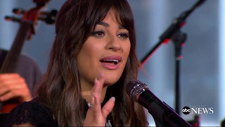 "Lea Michele - ""Run to You"" on GMA (April 28, 2017)"