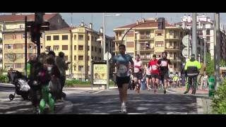 preview picture of video 'Medio-Maraton Irun 2014'