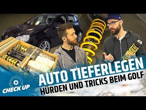 FAHRZEUG TIEFERLEGEN | ST SUSPENSIONS | Auto tieferlegen | CHECK UP | MOVE IT