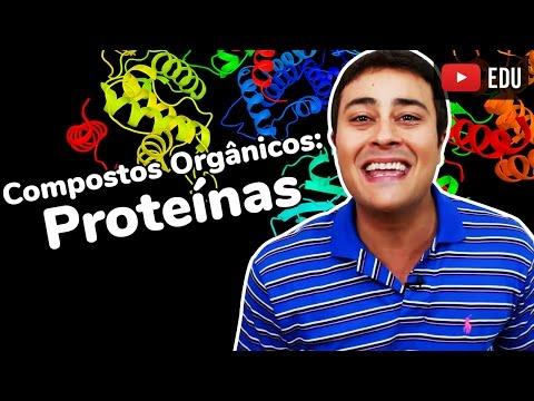 Proteínas | Compostos Orgânicos | Bioquímica | Prof. Paulo Jubilut