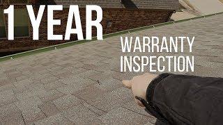 1 Year Warrenty Inspection