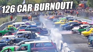 BEST BURNOUT EVER - Australia Breaks World Record!