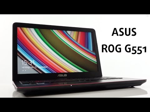Asus Republic of Gamers G551 video review