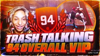 I MADE A TRASH TALKING 94 OVERALL REP UP OFF A LOSS😂! TOP REP EXPOSED NBA 2K19! HE CALLS ME TRASH😱