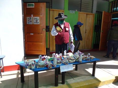 Jueces de paz vigilan distribución de alimentos de Qali Warma en la región Puno