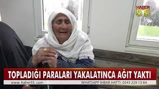 SAMSUN'DA DİLENCİ 3 SAATTE 190 LİRA TOPLADI