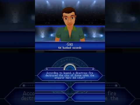 Who Wants to be a Millionaire: 3rd Edition (NDS Gameplay)