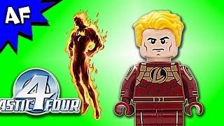 Custom Lego Fantasic Four HUMAN TORCH Minifigure