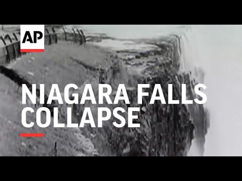 Niagara Falls Collapse – 1954