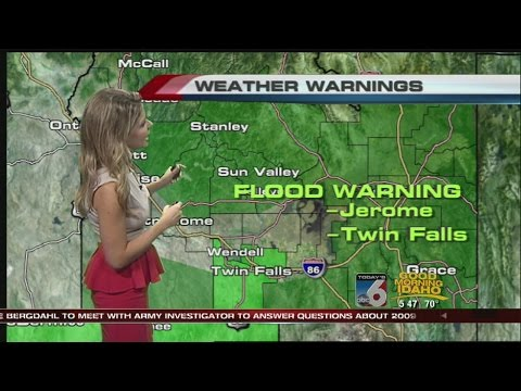 Bri Eggers' On Your Side Forecast:  Wednesday, August 6th