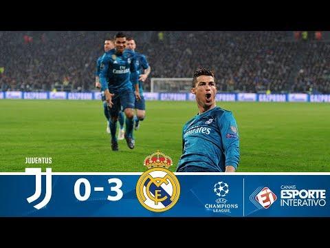 Juventus 0 x 3 Real Madrid - Melhores Momentos - Champions League (03/04/2018)