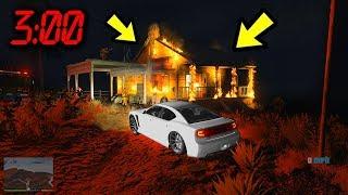 Никогда не поджигай этот дом в GTA 5... ИНАЧЕ...😱