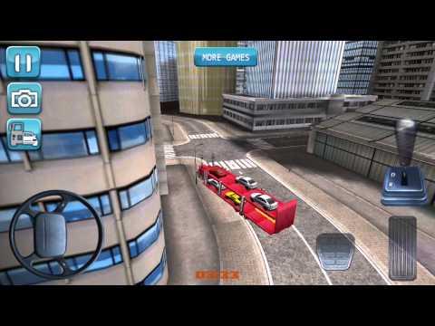 Vidéo Car transporter 3D truck sim
