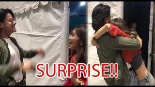 Daniel Padilla's Surprise Visit to Kathryn Bernardo At 'TWTF' Set in Ormoc