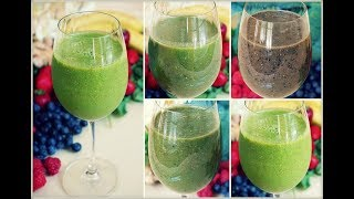 4 Anti-Inflammatory Green Smoothie Recipes (Dairy Free)