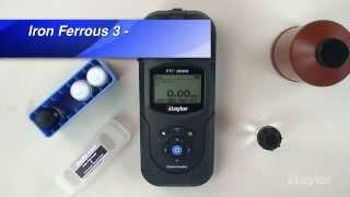 Testing for Ferrous Iron Using Taylor's TTi Colorimeter (M-3000)