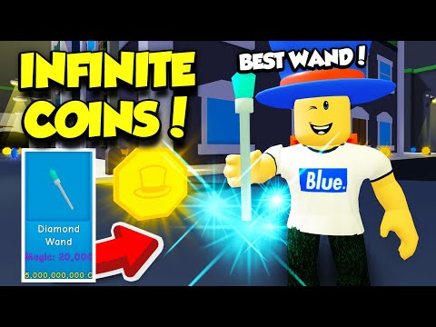 The Creator Gave Me A SECRET ADMIN COMMAND For INFINITE COINS In Magician Simulator! (Roblox)