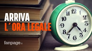 Ora Legale, Domenica Lancette Avanti Di Un'ora. Disputa Sull'abolizione Slitta Al 2021
