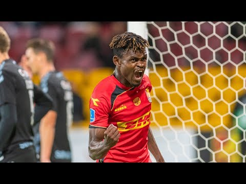 Video: Watch Godsway Donyoh's hat-trick for FC Nordsjaelland