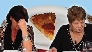 Italian Grandmas Try Frozen Pizza For The First Time thumbnail