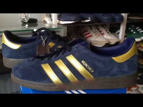 Adidas Munchen SPZL (trainer unboxing & on foot)