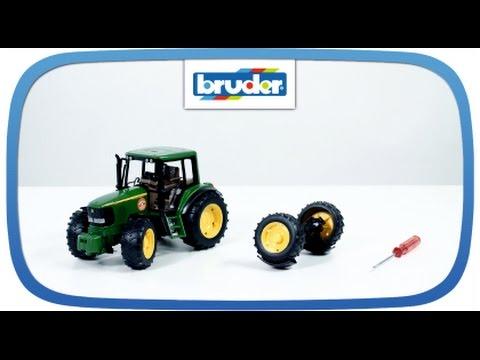 42050 -- Vorderachse Traktor 2000 Serie -- Bruder Spielwaren Ersatzteile