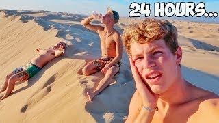 Surviving 24 Hours Straight In A Desert!