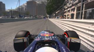 F1 2014 Monaco Hot Lap TT All Assist Off 1.15.828