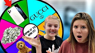 Spin It to Win It Shopping Challenge || Taylor & Vanessa