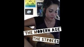 """""""The Modern Age"""" (The Strokes) cover by Raeden Martinez"""