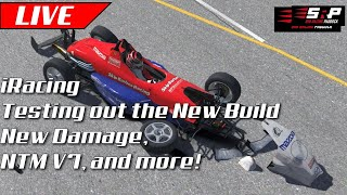 iRacing: Testing out 2019 Season 4 Build - New Damage, Tire Model, and More!