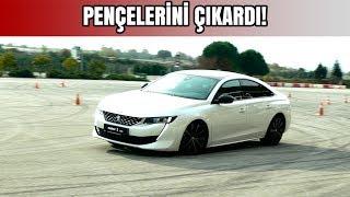 PENÇELERİNİ ÇIKARDI! | Peugeot 508 Geyik Testi