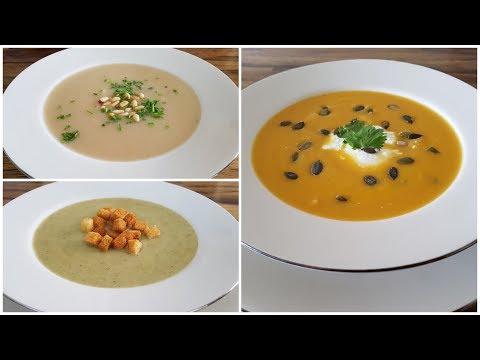 Creamy Soup Recipe - 3 Delicious Ways