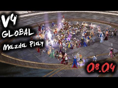v4 СТРИМ В НОЧИ 1.120.000 БМ / V4 MAZDA PLAY MMORPG 2021