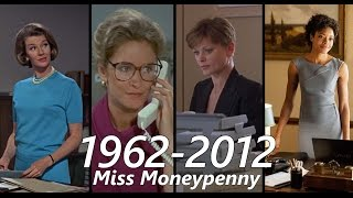 All the Miss Moneypenny scenes 1962 - 2012