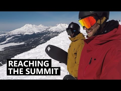 Reaching the Summit – Snowboarding Mt Bachelor