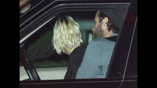 Miley Cyrus and Liam Hemsworth leaving Nobu in Malibu