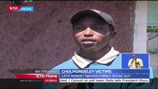 Family of the Late Njoya are shocked over Chumley's death