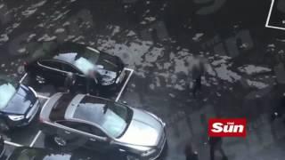 Эвакуация Терезы Мэй и несогласованные действия ее охраны