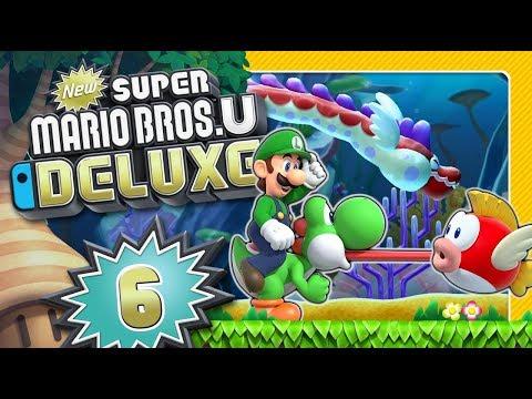 New Super Mario Bros U Deluxe Walkthrough New Super Mario Bros
