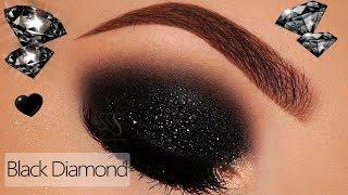 DIY Black Diamond Eyeshadow & Lip Topper | Melissa Samways